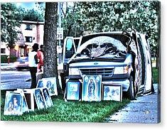 Van Art Acrylic Print