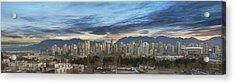 Van City Sunrise Acrylic Print by David Gn