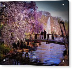 Van Gogh Bridge - Reston, Virginia Acrylic Print