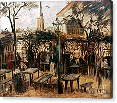 Van Gogh: Guingette, 1886 Acrylic Print by Granger