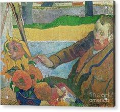 Van Gogh Painting Sunflowers Acrylic Print