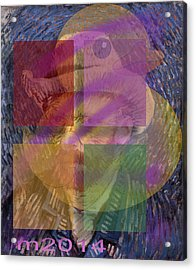 Van Gogh Self Portrait With Felt Hat Acrylic Print