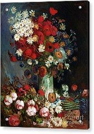 Van Gogh Still Life 1886 Acrylic Print by Granger