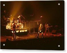 Van Halen Opening For Black Sabbath Acrylic Print
