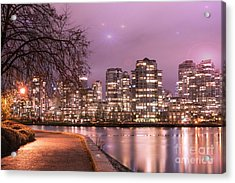 Acrylic Print featuring the photograph Vancouver, Canada by Juli Scalzi