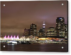 Vancouver Canada Place Acrylic Print