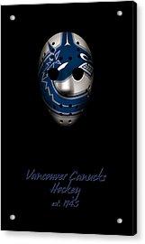 Vancouver Canucks Established Acrylic Print