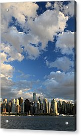 Vancouver City At Sunset Acrylic Print by Pierre Leclerc Photography