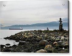 Vancouver English Bay Acrylic Print