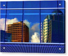 Vancouver In Color Acrylic Print by Barbara  White