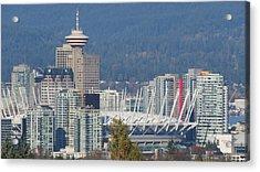 Vancouver Stadium Acrylic Print