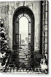 Vanderbilt Doorway In Centerport Acrylic Print