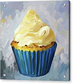 Vanilla Cupcake Acrylic Print