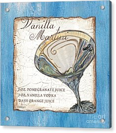 Vanilla Martini Acrylic Print by Debbie DeWitt