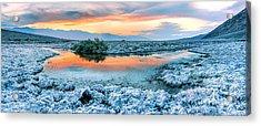 Vanilla Sunset Acrylic Print