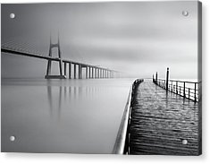 Acrylic Print featuring the photograph Vanishing by Jorge Maia