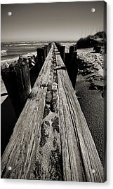 Vanishing Point Folly Beach Acrylic Print
