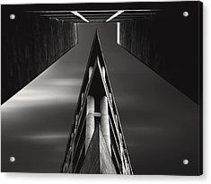 Vanishing Point Acrylic Print by Sourig  Arslanian