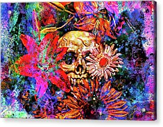 Acrylic Print featuring the photograph Vanitas by Jeff  Gettis