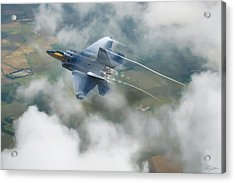 Vaping Raptor Acrylic Print by Peter Chilelli