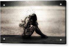 Vapours Of Sadness Acrylic Print