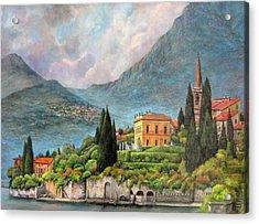Varenna Italy Acrylic Print