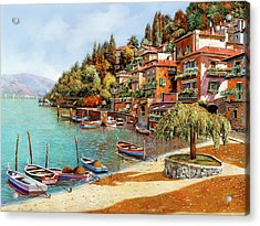 Varenna On Lake Como Acrylic Print