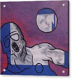 Variation In Blue Acrylic Print by Pierre Davis-Dutreix