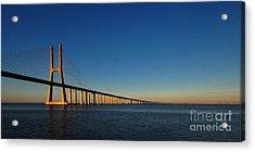 Vasco Da Gama Bridge Lisbon 1 Acrylic Print