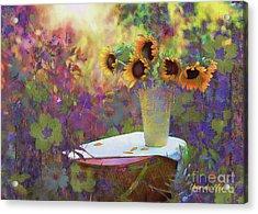 Vase De Fleurs 2017 Acrylic Print