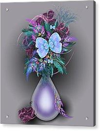 Vase Of Fractals Acrylic Print