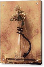 Vase Of Gold Acrylic Print