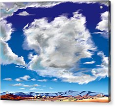 Vasquez Cloud Acrylic Print by Steve Beaumont