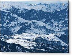 Vast Landscape Acrylic Print by Svetlana Sewell