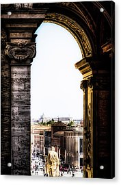 Vatican City - The Arch View Acrylic Print