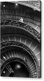 Vatican Stairs Acrylic Print