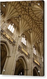 Vaulted Ceiling Acrylic Print by Michael Hudson