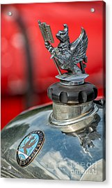 Vauxhall Griffin Motif Acrylic Print by Adrian Evans