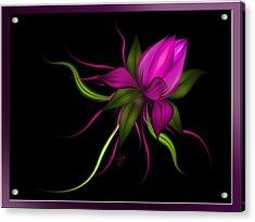 Vector Flower Acrylic Print