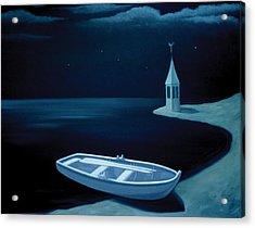 Ved Bredden Acrylic Print by Tone Aanderaa
