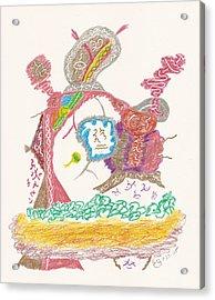 Vedauwoo Shaman Acrylic Print