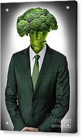 Vegan Man Acrylic Print