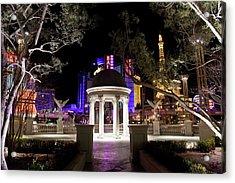 Vegas At Night 2 Acrylic Print by Patrick  Flynn