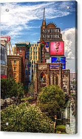 Vegas Baby Acrylic Print by James Marvin Phelps