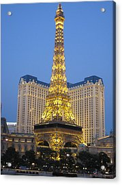 Vegas Acrylic Print by Michael Albright
