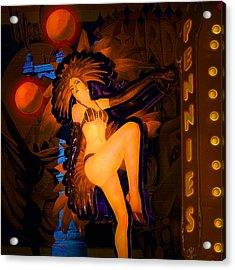 Vegas - Paris Acrylic Print by Jeff Burgess