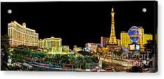 Vegas Splendor  Acrylic Print by Az Jackson