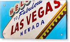 Vegas Tribute Acrylic Print by Slade Roberts