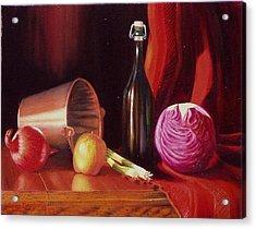 Veggie Bucket. Acrylic Print