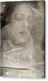 Veiled Princess Acrylic Print